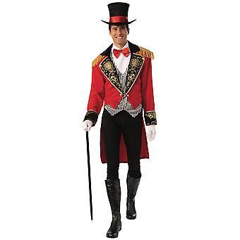 Ringmaster Ringleader Zirkus Performer Zauberer Showman Erwachsene Herren Kostüm