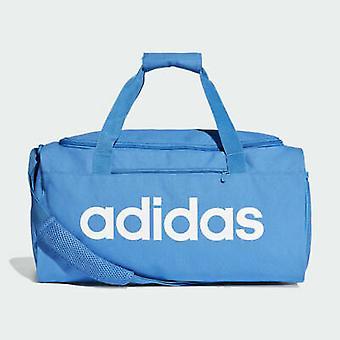 Adidas Linear Core Duffel Bag Training gym Sport Travel Small Bag DT8623 Blue