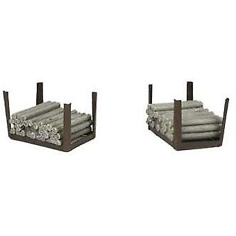 Bachmann Hampton Heath Colliery Woodstacks 1:76 Modell