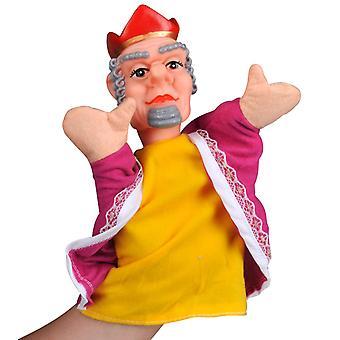 Hand-Marionetten-König