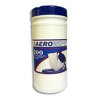 Aerowipe アルコール フリー表面ワイプ