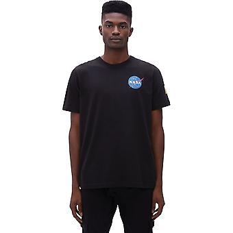 Άλφα βιομηχανίες διαστημικό λεωφορείο μπλουζάκι μαύρο 67
