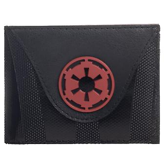 Wallet - Star Wars - Mixed Material Imperial Bifold New mw8iaestw