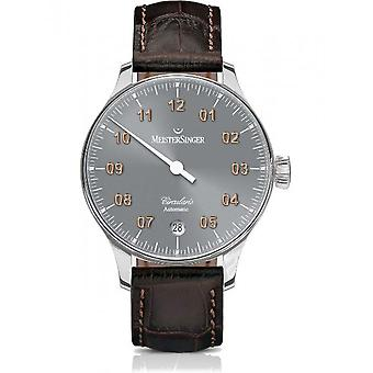 MeisterSinger Men's Clock Circularis Automatic One-Hand Watch CC927G_SL02