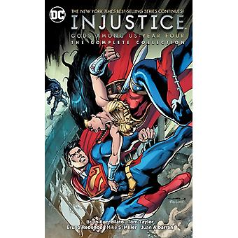 Injustice Gods Among Us Year Four by Buccellato & Brian