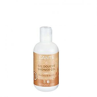 Sante dusch Gel Bio kokos och vanilj 200 ml