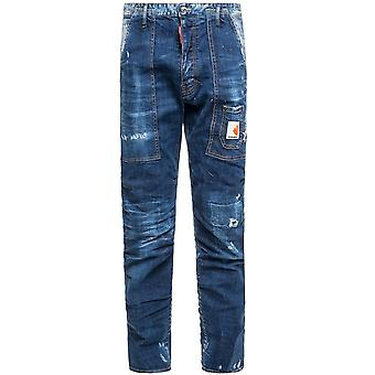 Dsquared2 DSquared2 Dark Front Jeans