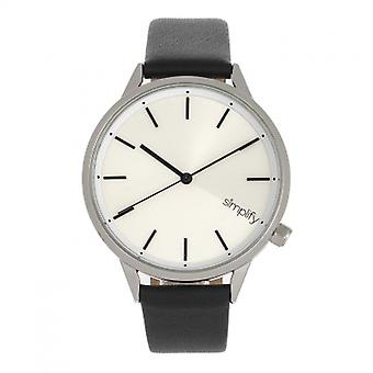 Simplify The 6700 Series Watch -  Black/Silver