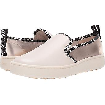 Coach Womens C115 Slip-On Sneaker with Printed Snake
