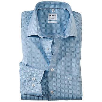 OLYMP Olymp Pattern Fashion Formal Shirt