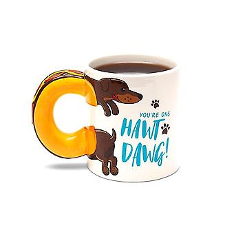 Bigmouth - the hawt dawg coffee mug