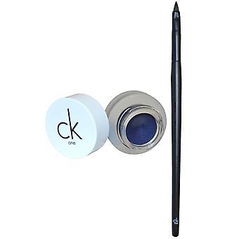 CKOne Calvin Klein Eyeliner żel z niebieski szczotka 2,8 g Haze #400