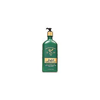 (2 Pack) Bath & Body Works Aromatherapy Joyful Black Currant Pine Body Lotion 6.5 fl oz / 192 ml