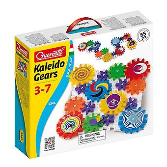 Quercetti Kaleido Gears 55 Piece Building Gears Ages 3-7 Years