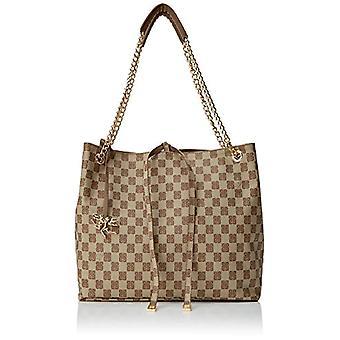 Piero Drives Shopping with Shoulder Chain Women's Brown (Havana) 32x285x135 cm (W x H x L)