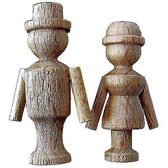 Kuckuck Uhr tanzen paar Holz