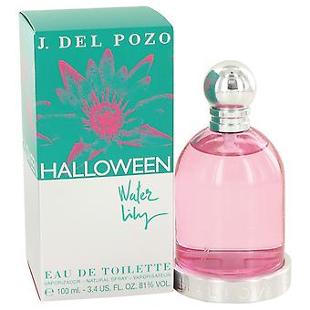 Halloween Water Lilly av Jesus Del Pozo Eau De Toilette Spray 3,4 oz/100 ml (kvinner)