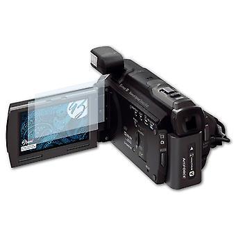 Bruni 2x Schutzfolie kompatibel mit Sony HDR-PJ780VE Folie