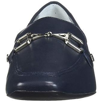 MARC JOSEPH NEW YORK Women's Leather W. Houston Buckle Loafer