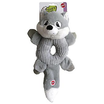 Agrobiothers Dog Toy Raccoon Donut Crinkler Spot