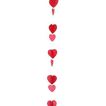 Anagram 1.2m Hearts Balloon Tail