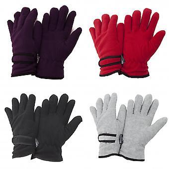 FLOSO レディース/レディース シンサレート フリース熱手袋 (3 M 40 g)