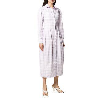 Jacquemus 201dr122012164i Women's Purple Cotton Dress