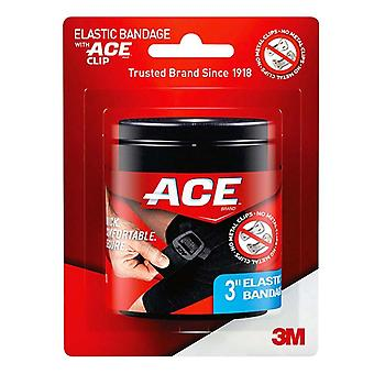 3m ace brand elastic bandage with ace clip, 3 inch, 1 ea