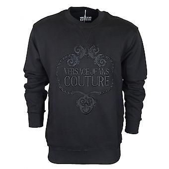 Versace Jeans Couture Cotton Black Sweatshirt