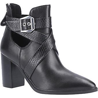 Stivali alla caviglia di Steve Madden Womens Jizz zeppo tagliato fuori Trendy Ankle
