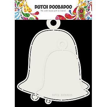 Néerlandais Doobadoo Card art 2x boules de Noel max 15x17cm 470.713.722
