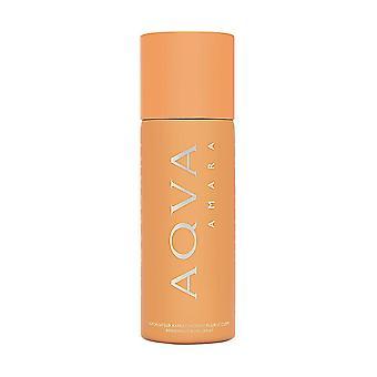 Bvlgari aqva amara for men 5.0 oz refreshing body spray