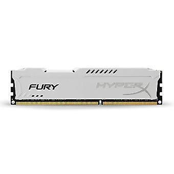HyperX HX316C10FW/8 Fury 8 GB, 1600 MHz, DDR3, CL10, UDIMM, 1.35V, White