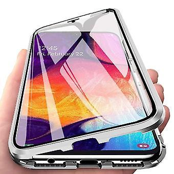 Samsung Galaxy A70 Shell met Screen Protector Zilver