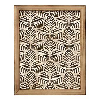 Wild Leaf Wood Framed Wall Art