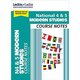 National 45 Modern Studies Course Notes for New 2019 Exams by Elizabeth Elliott