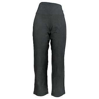 Femmes avec contrôle Femmes-apos;s Petit Pantalon Tummy Control Slim Leg Black A284090
