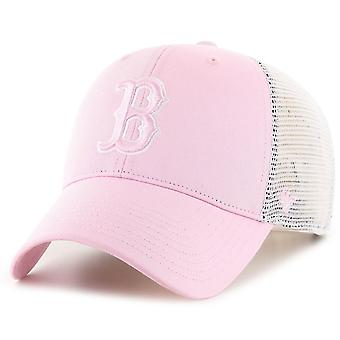 47 Brand Trucker Cap - FLAGSHIP Boston Red Sox petal pink