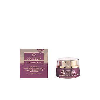 Collistar Magnifica Plus Replumping regenererande Eye Cream Spf15 15 Ml för kvinnor