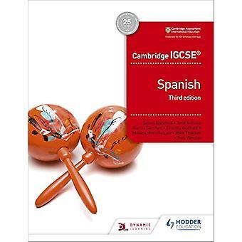 Cambridge IGCSE (TM) Espanjan Student Book Kolmas Painos Simon Bare