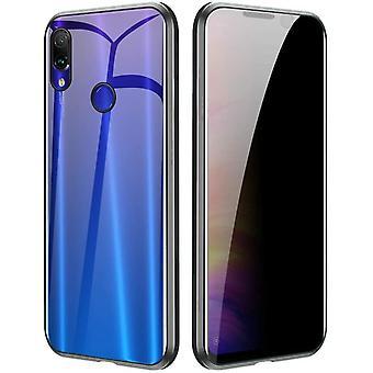 Mobiles Gehäuse mit doppelseitigem gehärtetem Glas - XiaoMi 8 - Schwarz