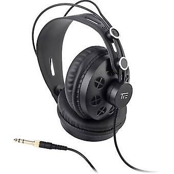 עניבה סטודיו THP-580 סטודיו על האוזן אוזניות על האוזן שחור