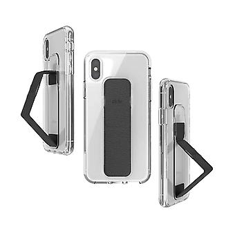 Affaire Clckr Gripcase iPhone XS / X - Transparent