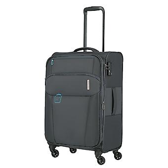 Travelite Go Trolley M, 4 rollos, 66 cm, 58 L, gris