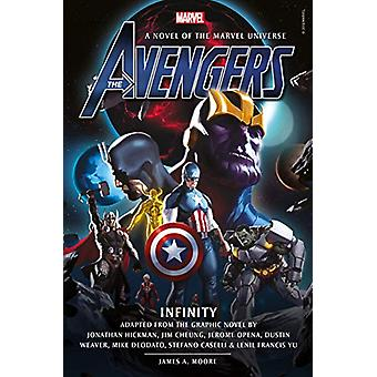 Avengers - Infinity Prose Novel by James A. Moore - 9781789091649 Book