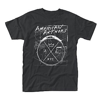 American Authors Drums Official Tee T-Shirt Unisex
