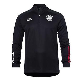 2020-2021 Bayern München Adidas Training Top (Fekete) - Gyerekek