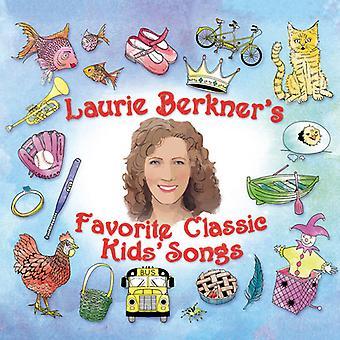 Laurie Berkner - Laurie Berkner Favorite Classic Kids Songs [CD] USA import