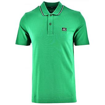 C.P. Company Green Slim Fit Polo