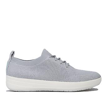 Women's Fit Flop F-Sporty Uberknit Utbildare i Cream